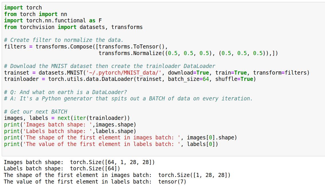 pytorch-data-preparation   PyTorch & Keras Deep Learning